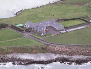 Ariel view of Harbour House
